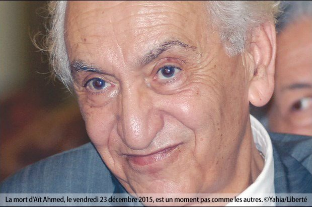 Disparition de Hocine Aït Ahmed