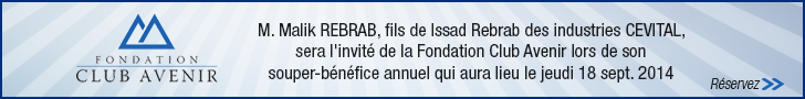 Fondation Club Avenir - Souper bénéfice 2014
