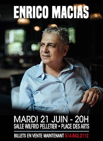 Enrico Macias Quebec 2016