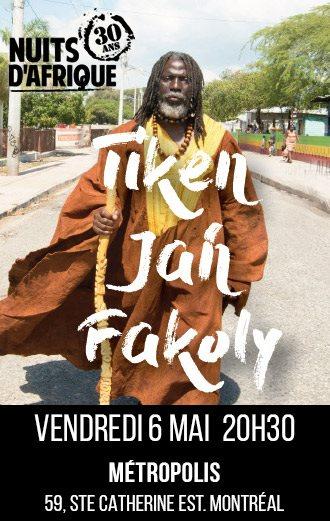 Tiken Jah Fakoli  FINA 30 2016