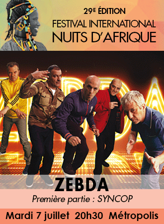 ZEBDA 7 juillet 2015 Métropolis